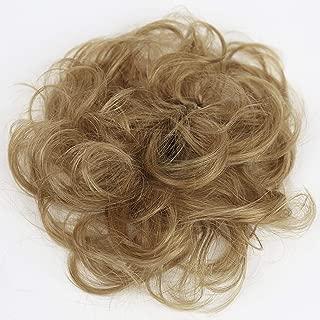 PRETTYSHOP 100% Human Hair Up Scrunchie Scrunchy Extensions Hairpiece Do Bun Ponytail Diverse Colors (strawberry blonde 27 H312)