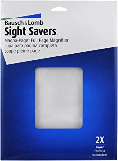 Sight Savers Magna-Page Full Page Magnifier