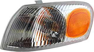 Park Signal Corner Marker Light Lamp Lens Driver Replacement for 98-00 Toyota Corolla 81520-02040