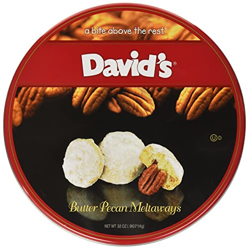 David's Cookies Butter Pecan Melt Ways, ...