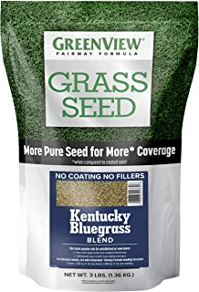 GreenView 2829352 Fairway Formula Grass Seed Kentucky Bluegrass Blend, 3 lb