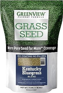 GreenView 2829352 Fairway Formula Grass Seed Kentucky Bluegrass Blend, 3 lb.