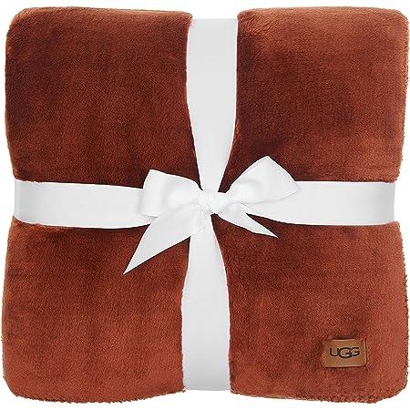 UGG Whitecap Plush Flannel - Oversized Throw Blanket, Sequoia