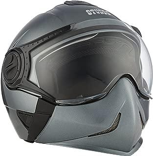 Studds Downtown SUS_DFFH_GGRYXL Full Face Helmet (Gun Grey, XL)
