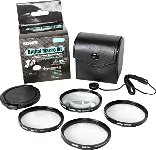 Bower 58 mm Digital Macro Filter Kit - Pack of 6 Pieces - FCC58C6