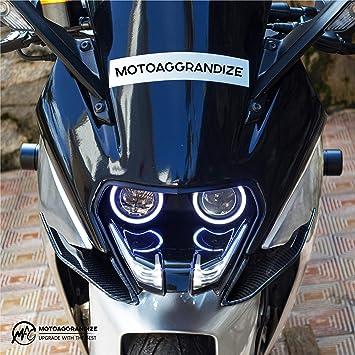 Motoaggrandize Frame Sliders Crash Protectors For Ktm Rc 125 200 250 390 Black Amazon In Car Motorbike