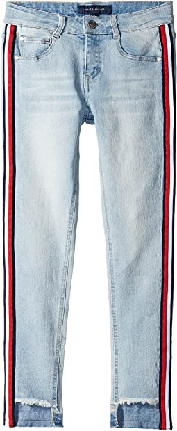 Skinny Step Up Jeans in Chelsea Wash (Little Kids/Big Kids)