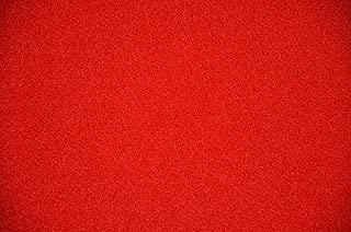 Dean Red Indoor/Outdoor Patio Deck Boat Entrance Event Carpet/Rug Runner Mat - Size: 6' x 10'