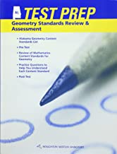 Holt McDougal Geometry Alabama: Test Prep Workbook