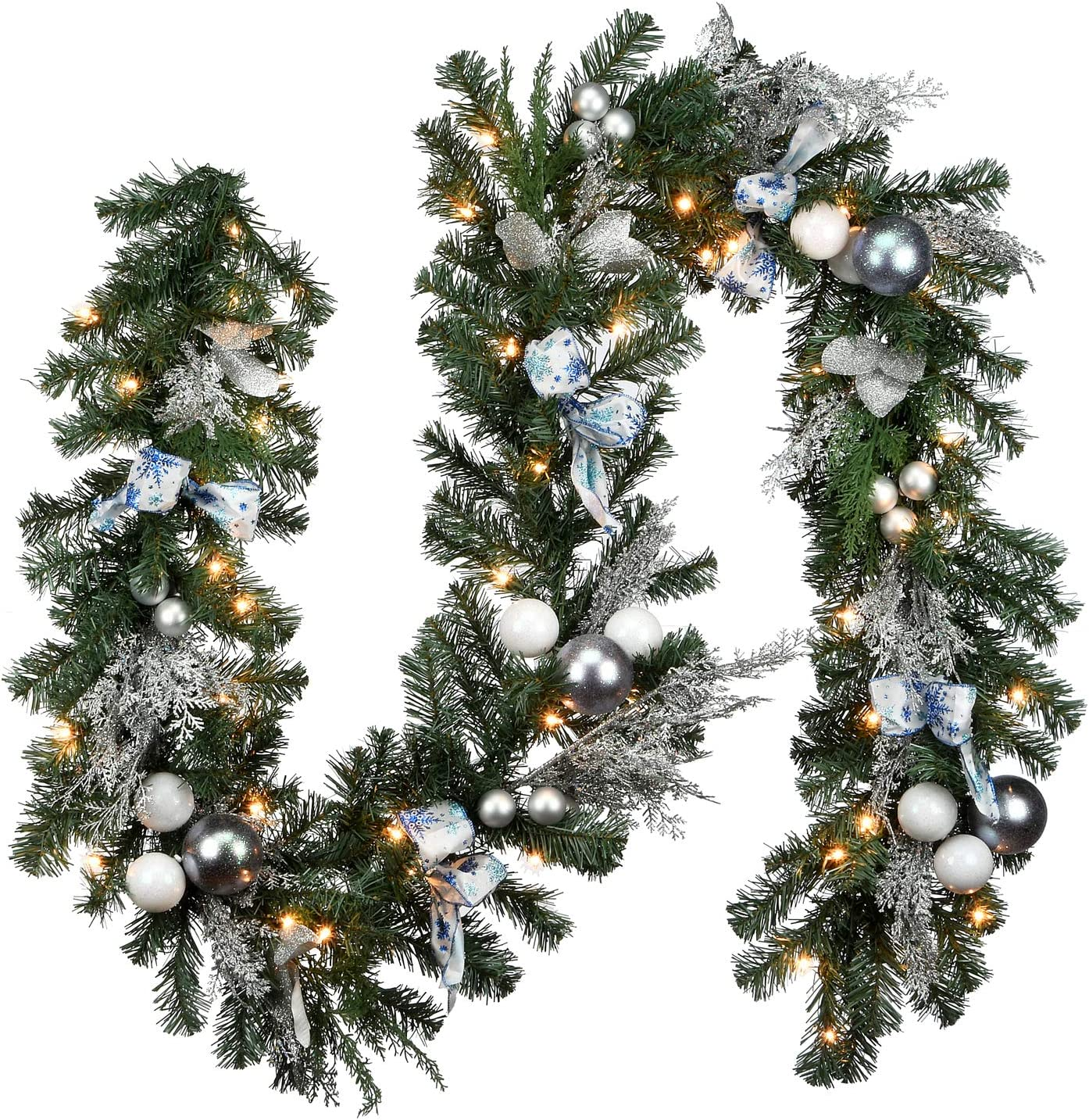 National National uniform free shipping Tree Company 9 xx14 50 Clear Collectio ft. Quantity limited Decorative