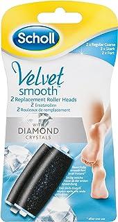 Scholl Velvet Smooth Diamond Pedi Electric Hard Skin Remover Refills X2