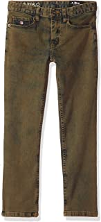 Buffalo by David Bitton Big Boys' Six-x Slim Straight Denim Pant