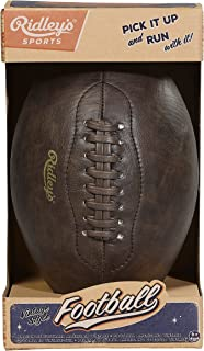 Classic USA Style Vintage Football with Inflation Pump Needle Adaptor