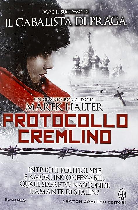 Marek halter - protocollo cremlino (italiano) copertina rigida 978-8854147539