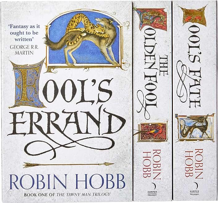 Robin Hobb - The Tawny Man Trilogy - 3 Books Collection Set (Fool's Errand: B...