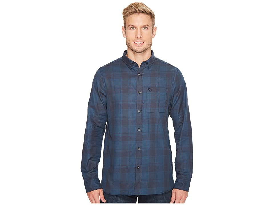 Fjallraven Ovik Flannel Shirt (Storm) Men