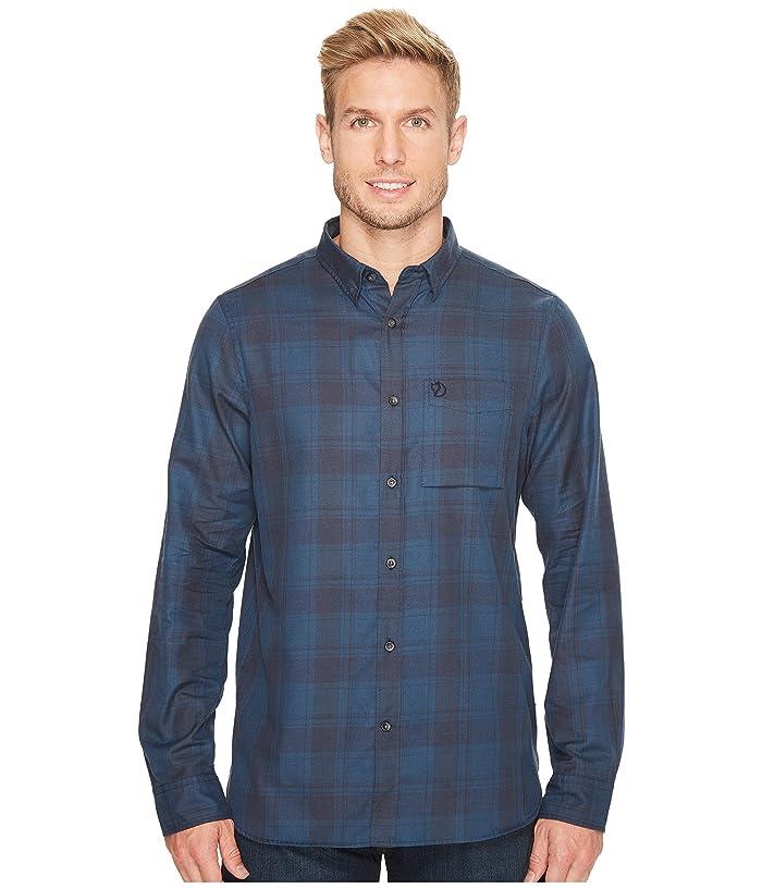 Fjallraven Ovik Flannel Shirt (Storm) Men