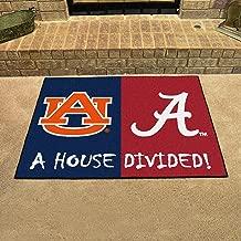 Fanmats Alabama - Auburn House Divided Mat