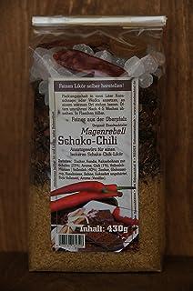 Ansatzmischung für Schoko- Chili Likör.