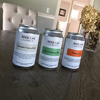 Beer Can Candle (Spruce Double IPA)