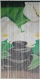 EVIDECO Orchid Zen Beaded Curtain Doorway 90 Strings 78.8