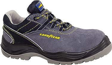 Goodyear G138107C Calzado en piel serraje, Gris, 43, Set de 2 Piezas