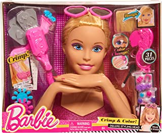 Barbie Color & Crimp Blonde Styling Head - coolthings.us