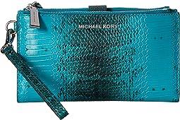 MICHAEL Michael Kors Double Zip Wristlet