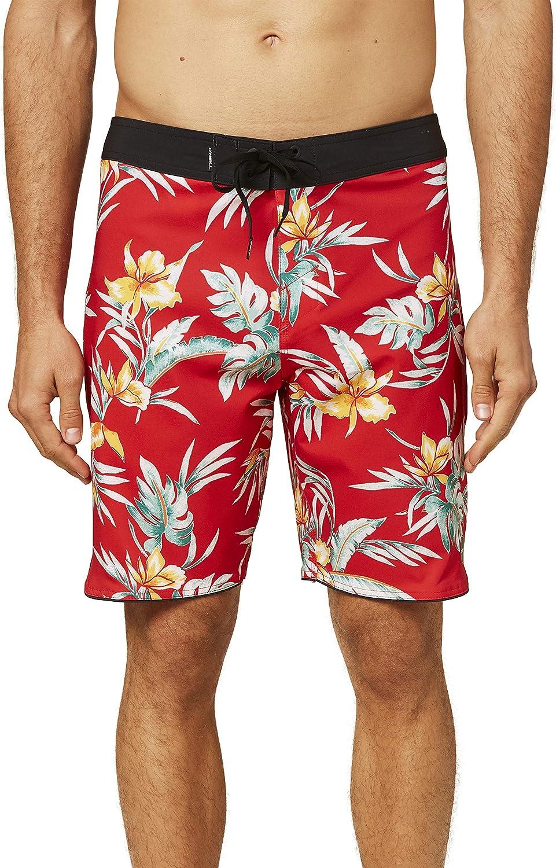 ONeill Mens Hyperfreak Solid 19 Anti-Rash Above The Knee Board Shorts
