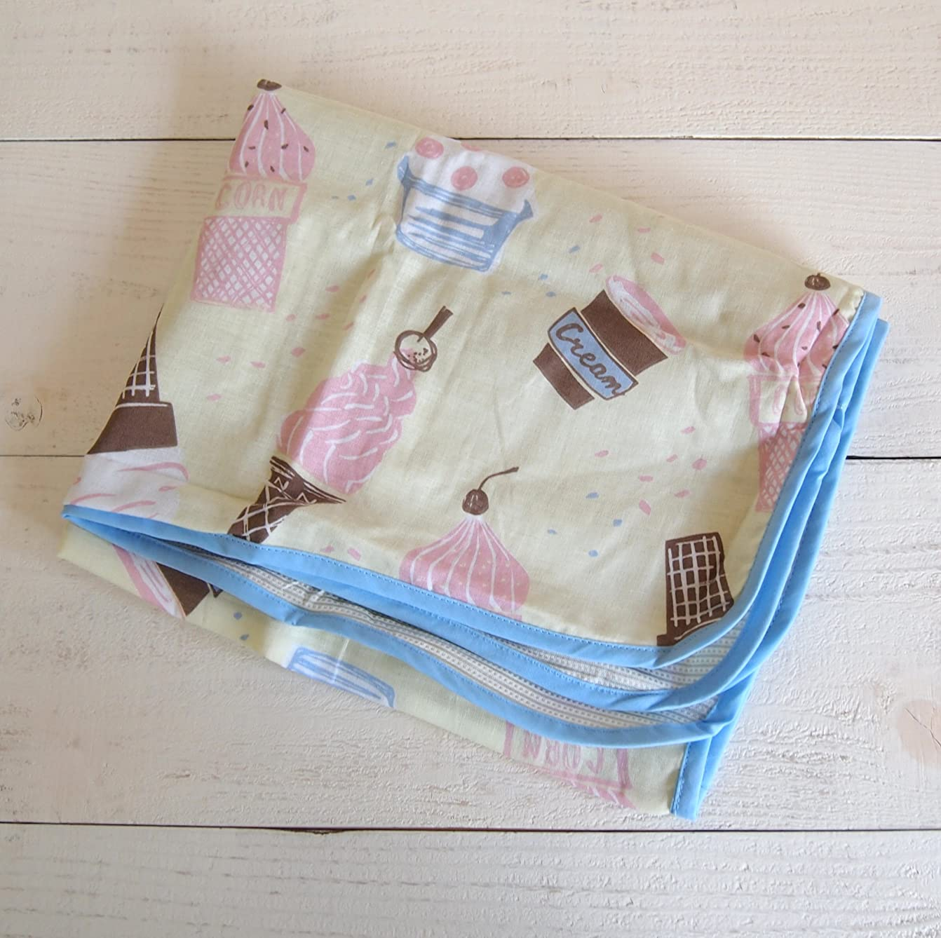 ステージ配分平日ビスク cool blanket クールブランケット/アイスクリーム