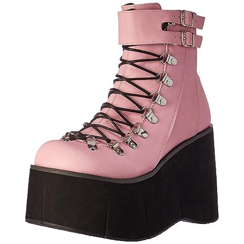 ac1a0a522666 Demonia Women s Kera21 bpvl Ankle Bootie