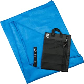 Gear Aid Quick Dry Microfiber Towel for Travel, Camping and Sports, Cobalt Blue, X-Large, 35 x 62