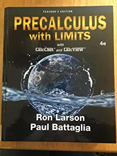 Precalculus With Limits 4e (Teachers Edition)