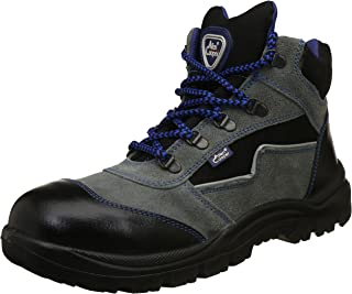 Allen Cooper AC-1110-7-GRY Men's Safety Shoe, Size-7 UK, Gray