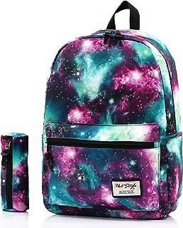 TRENDYMAX Galaxy Backpack Cute for School | 16