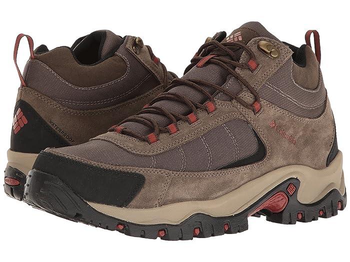 Columbia Granite Ridge Mid Waterproof (Mud/Rusty) Men's Shoes