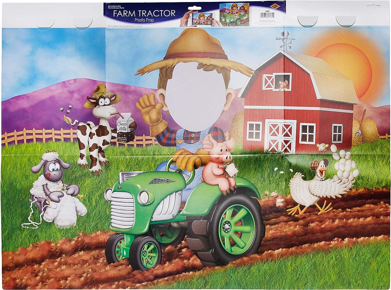 Tractor Barnyard Name banner Farm Birthday Banner Cow Print Banner Farm Theme Happy Birthday Banner Farm Theme Barnyard Birthday