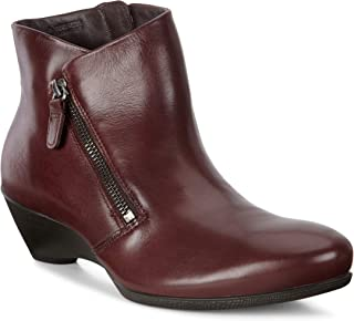 Women's Sculptured 45 Wedge Zip Ankle Boot