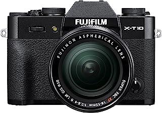 FUJIFILM ミラーレス一眼 X-T10 レンズキット ブラック X-T10LK-B
