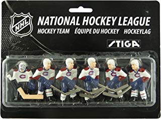 STIGA Montreal Canadiens Table Rod Hockey Players