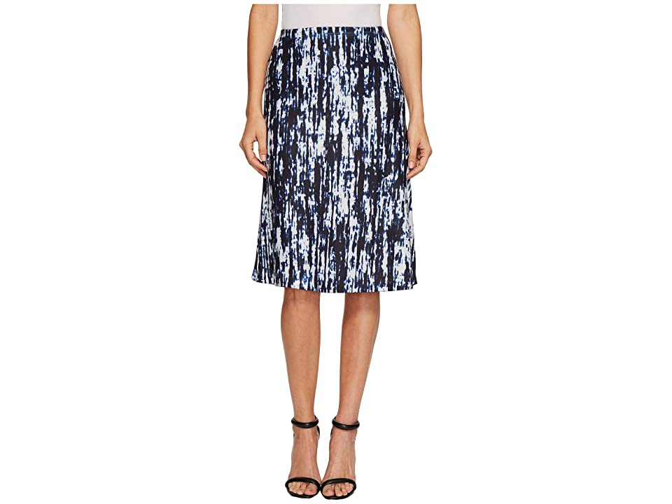 Nally & Millie Static Print Skirt (Multi) Women's Skirt