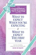 What to Expect: The Congratulations, You're Expecting! Gift Set: (Includes What to Expect When You're Expecting and What t...