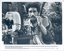 Vintage Photos 1986 Press Photo Richard Pryor Entertainer Jo Dancer Life Calling Mooney 8X10