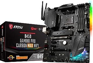 MSI Performance Gaming AMD Ryzen 1st, 2nd, and 3rd Gen AM4 M.2 USB 3.2 Gen 2 DDR4 HDMI Display Port Wi-Fi ATX Motherboard...