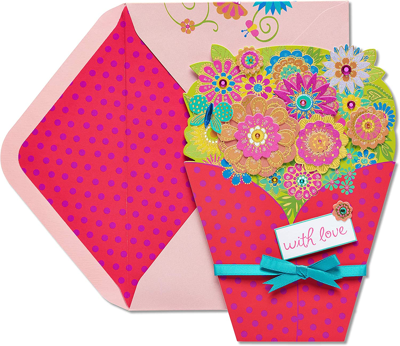 Brand Cheap Sale Venue Very popular Papyrus Birthday Card Bouquet