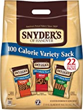 Snyder's of Hanover Pretzels Variety 100 Calorie Pack, 22 Count (Pack of 4)