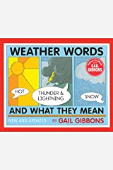 Weather Words and What They Mean (New Edition) Kindle Edition