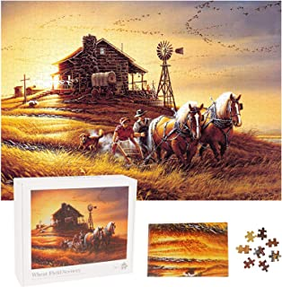 Herefun Puzzle 1000 Pièces Adultes, Intellectual Game Puzzle, Puzzles Classiques Ensembles de Puzzle de Défi Cérébral pour...