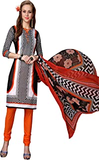 Minu salwar Cotton Printed Suit sets Multi(Mannat_1003_0)