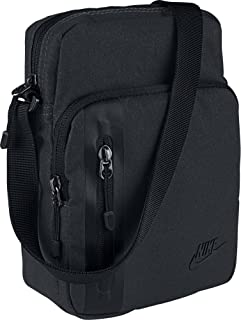 Nike Tech Small Items Bag, Black/Black/(Black), Misc